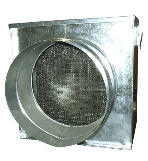 Фильтр жироулавливающий круглого сечения