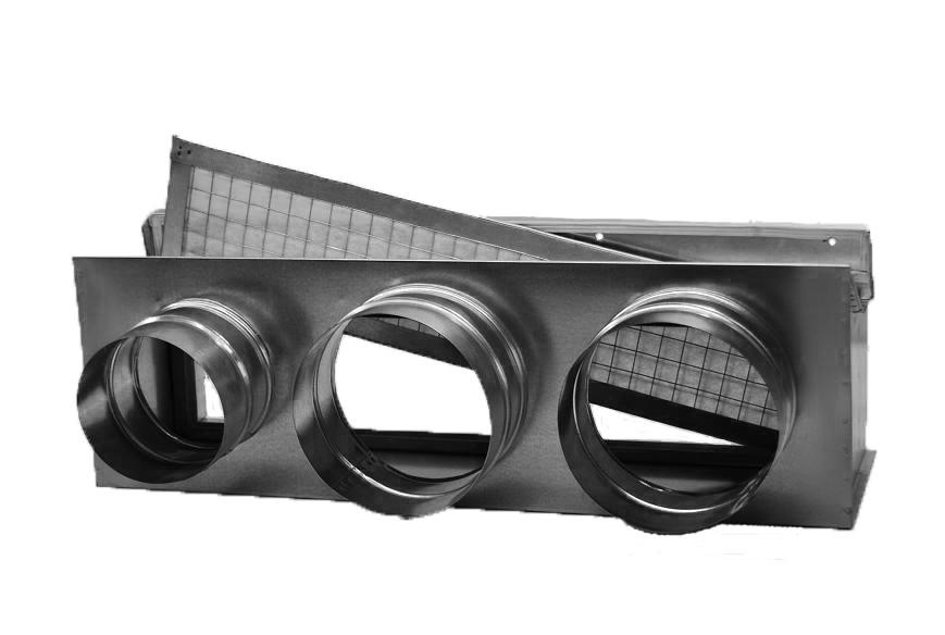 Воздухораспределительный адаптер для канального кондиционера
