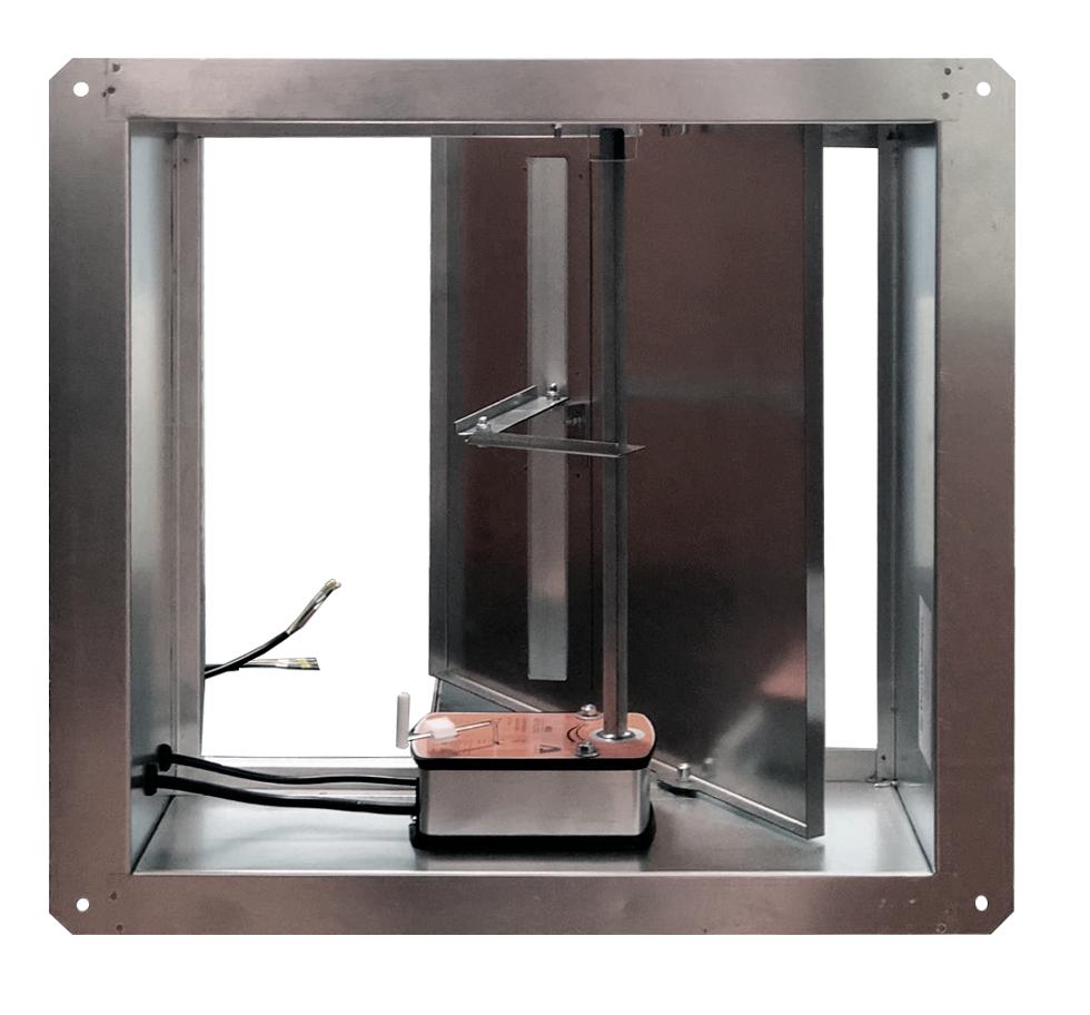 Клапан дымоудаления ПДВ-2 стенового типа