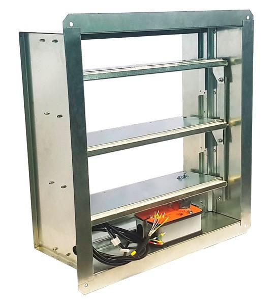 Клапан дымоудаления ПДВ-2-ЛБС лифтовой без кармана