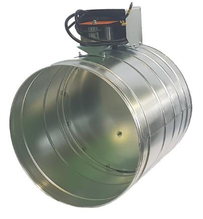 Клапан ПДВ-1М-ДУ круглого сечения