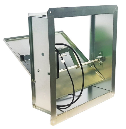 Клапан дымоудаления ПДВ-2-ДУ стенового типа