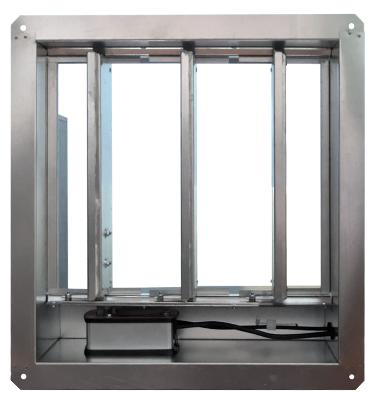 Клапаны дымоудаления ПДВ-2-ДУ-ЛС лифтовые с карманом