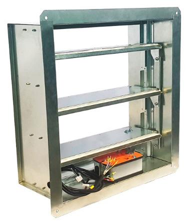 Клапан дымоудаления ПДВ-2-ДУ-ЛБС лифтовой без кармана