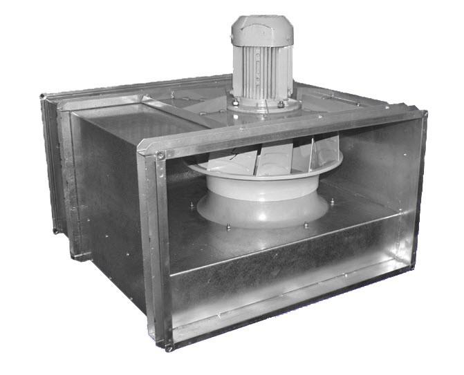 Прямоугольные канальные вентиляторы ВРПН-Н