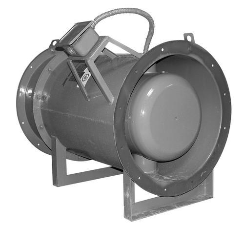 Осевые вентиляторы дымоудаления ВОД-ДУ